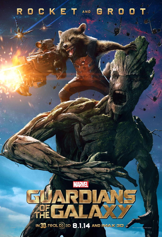 Rocket and Groot in 'Guardians of the Galaxy'
