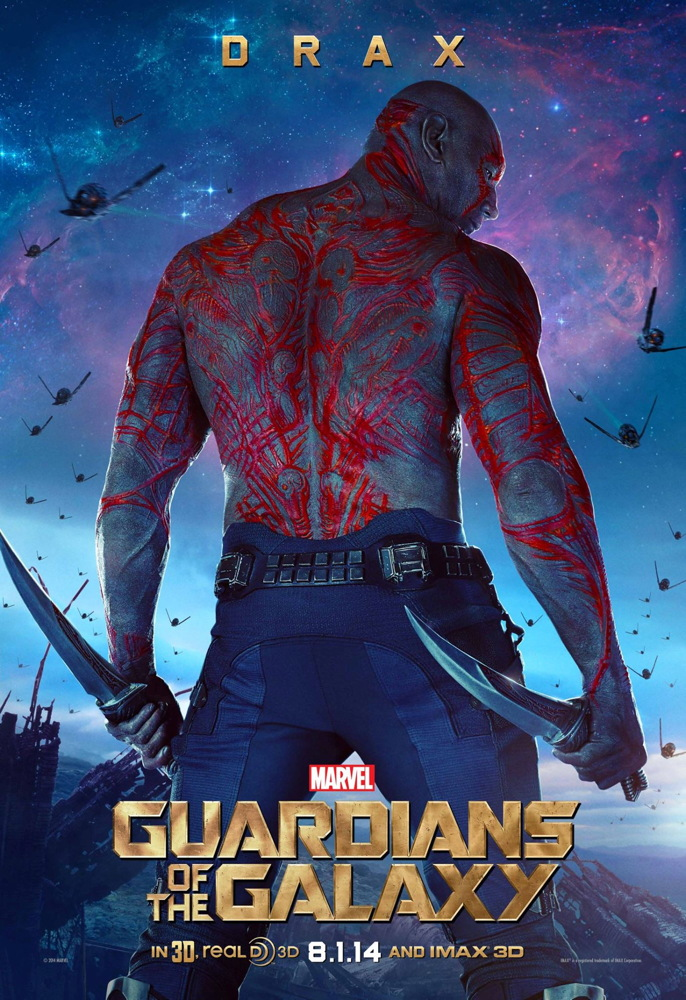 Drax in 'Guardians of the Galaxy'