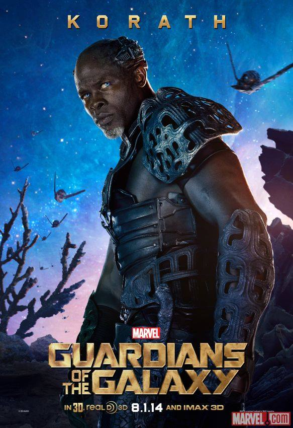 Korath in 'Guardians of the Galaxy'