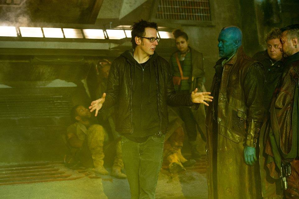 James Gunn Directs 'Guardians of the Galaxy'