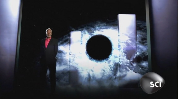 Academy Award winner Morgan Freeman narrates an episode of Through the Wormhole, a Science Channel documentary series.