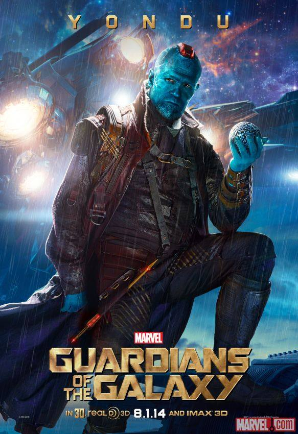 Yondu in 'Guardians of the Galaxy'
