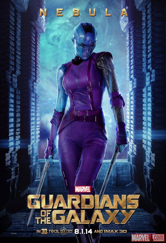 Nebula in 'Guardians of the Galaxy'