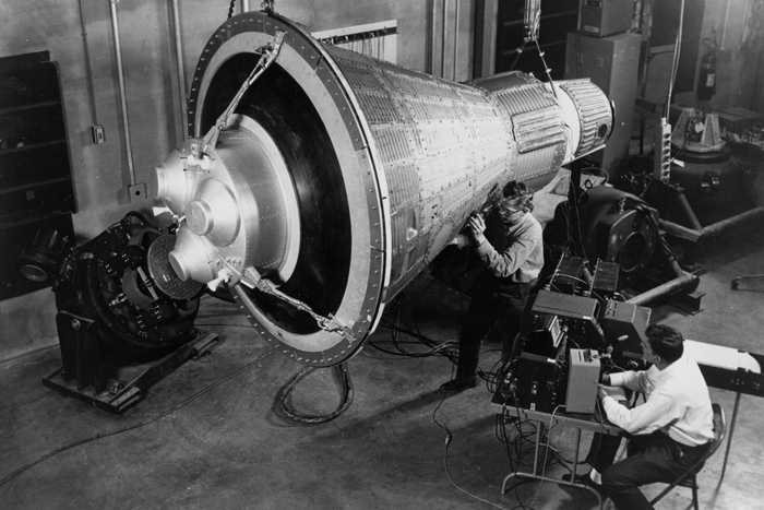 Space History Photo: Boilerplate Mercury Capsule