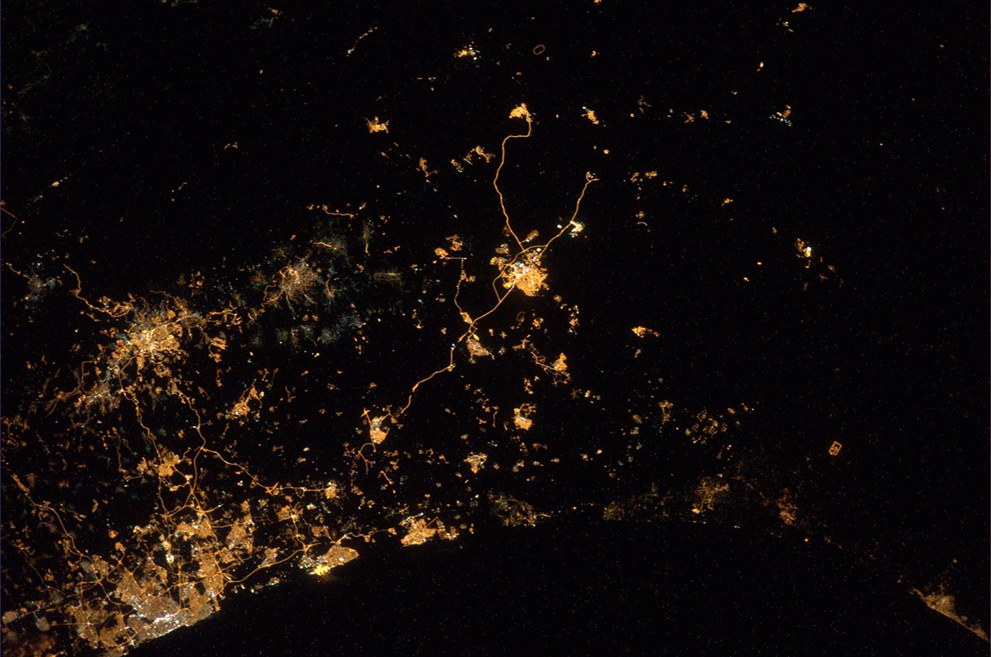 Astronaut Spots Explosions over Israel and Gaza from Space