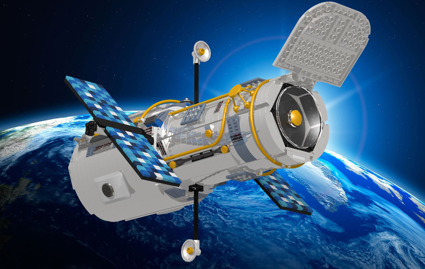 Hubble Space Telescope Could Become LEGO Model with Fan Votes