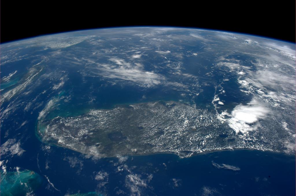 Key West, Florida, Seen from the International Space Station
