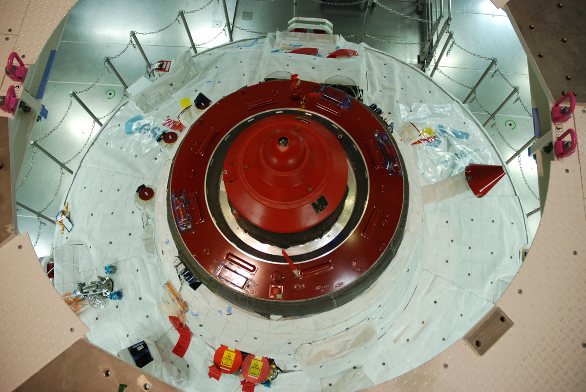 ATV-5 Hatch Closed
