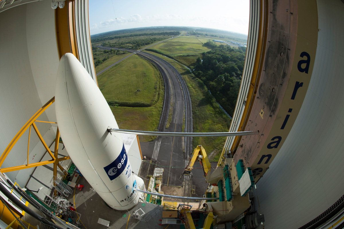 Ariane 5 in the BAF Before Rollout