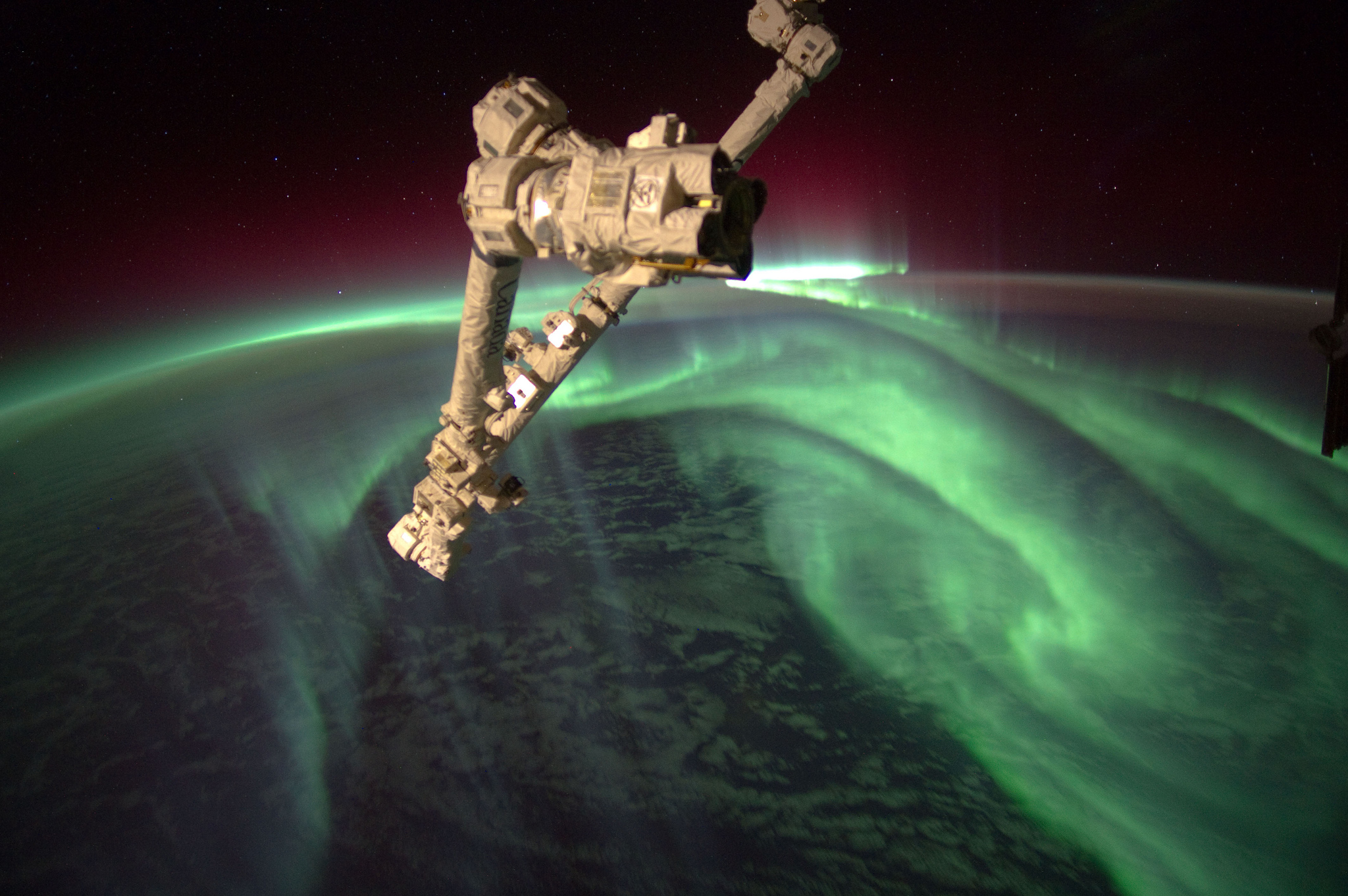 Aurora Australis by Expedition 32