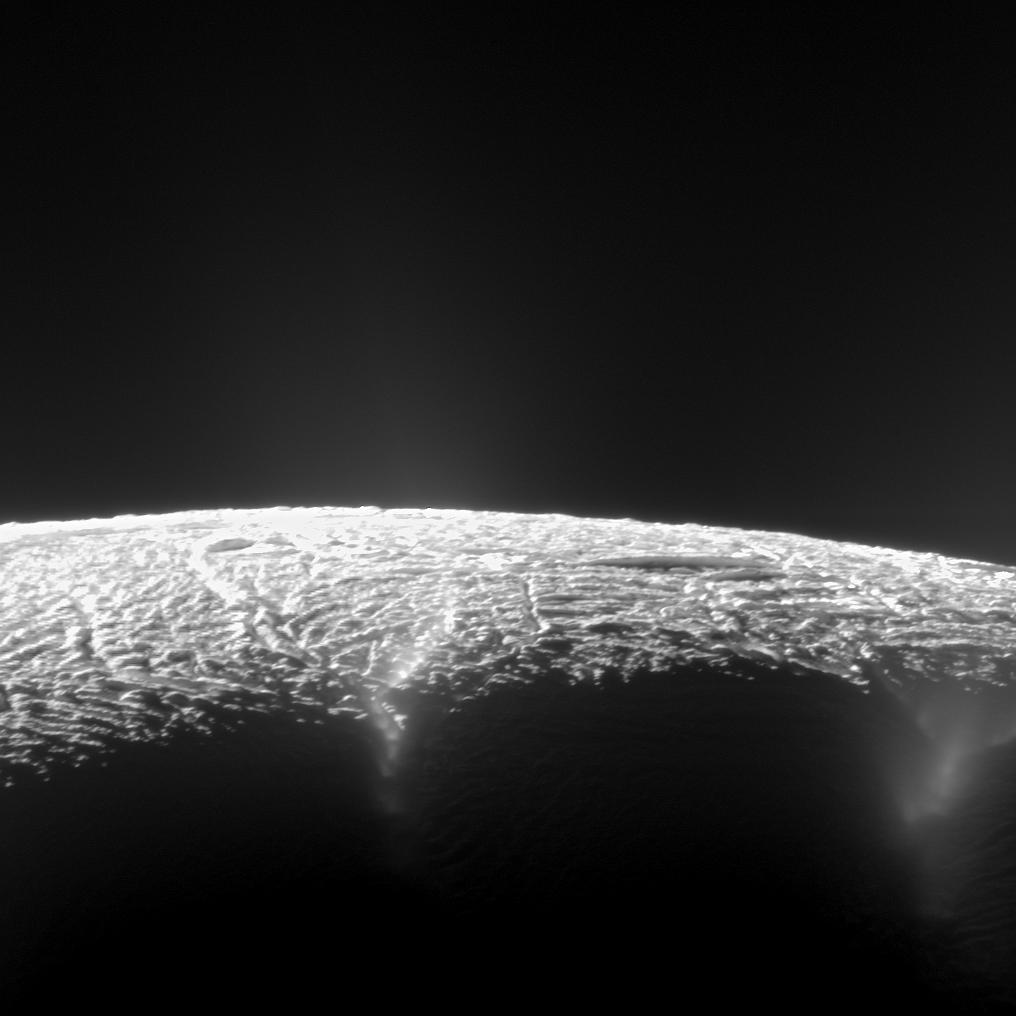 101 Geysers Spotted on Saturn's Icy Moon Enceladus