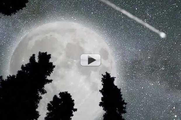 Supermoon vs. Perseids Meteors - Battle in August | Video