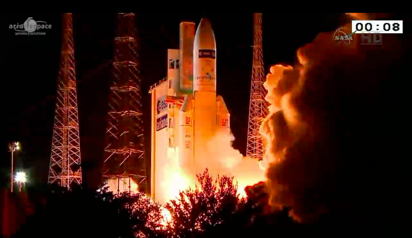 Huge European Cargo Ship Launches Its Last Delivery Flight to Space Station
