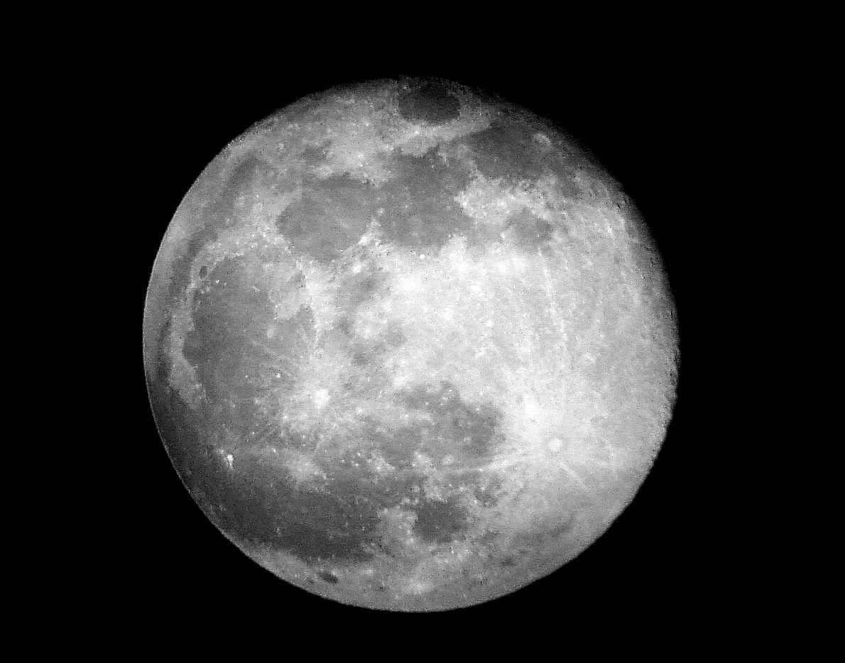 How the Moon Got Its Lemon Shape