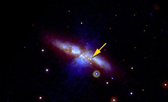 Weird Supernova May Blow Away Star Explosion Theories