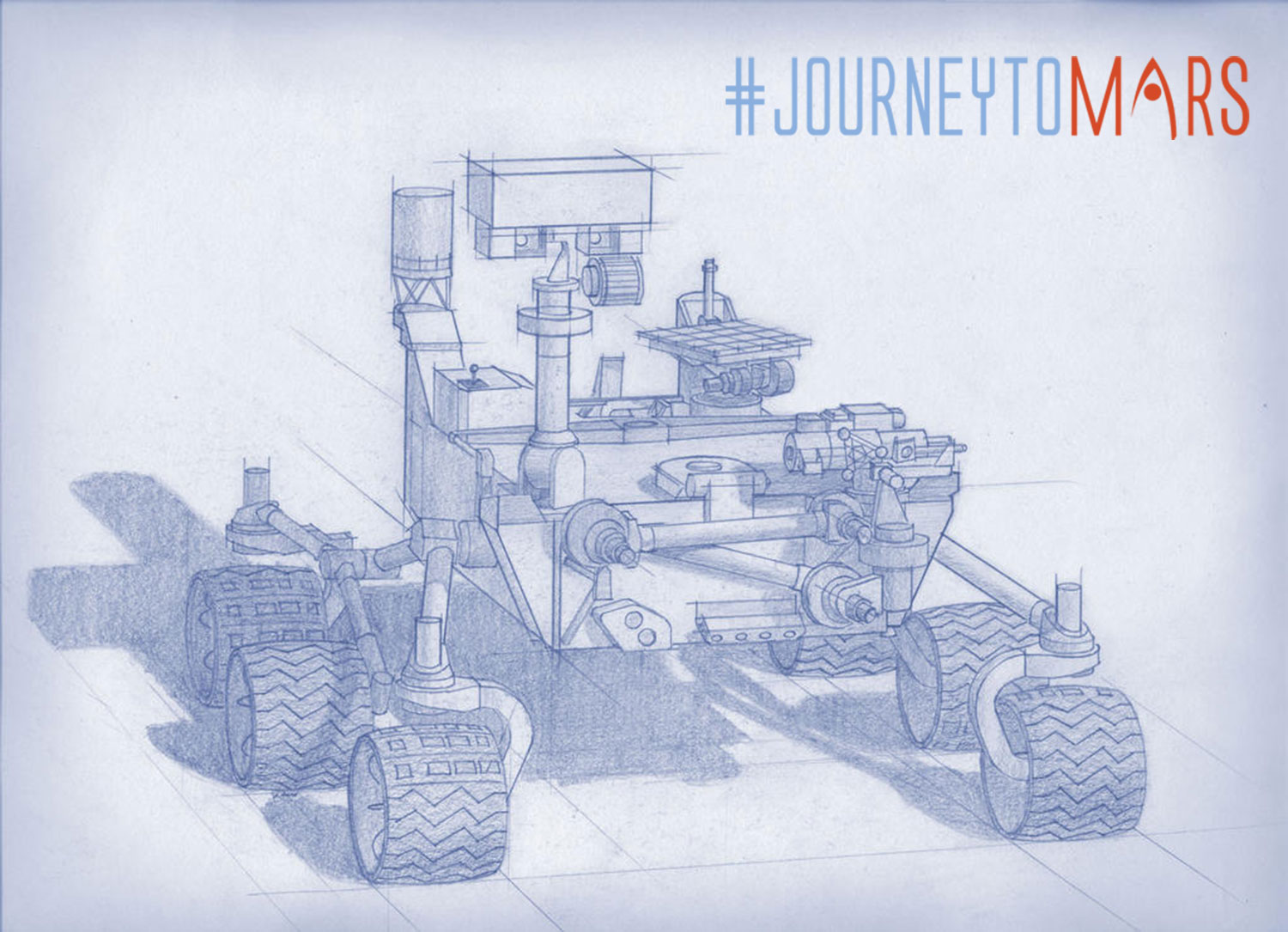NASA Mars Rover 2020 Diagram