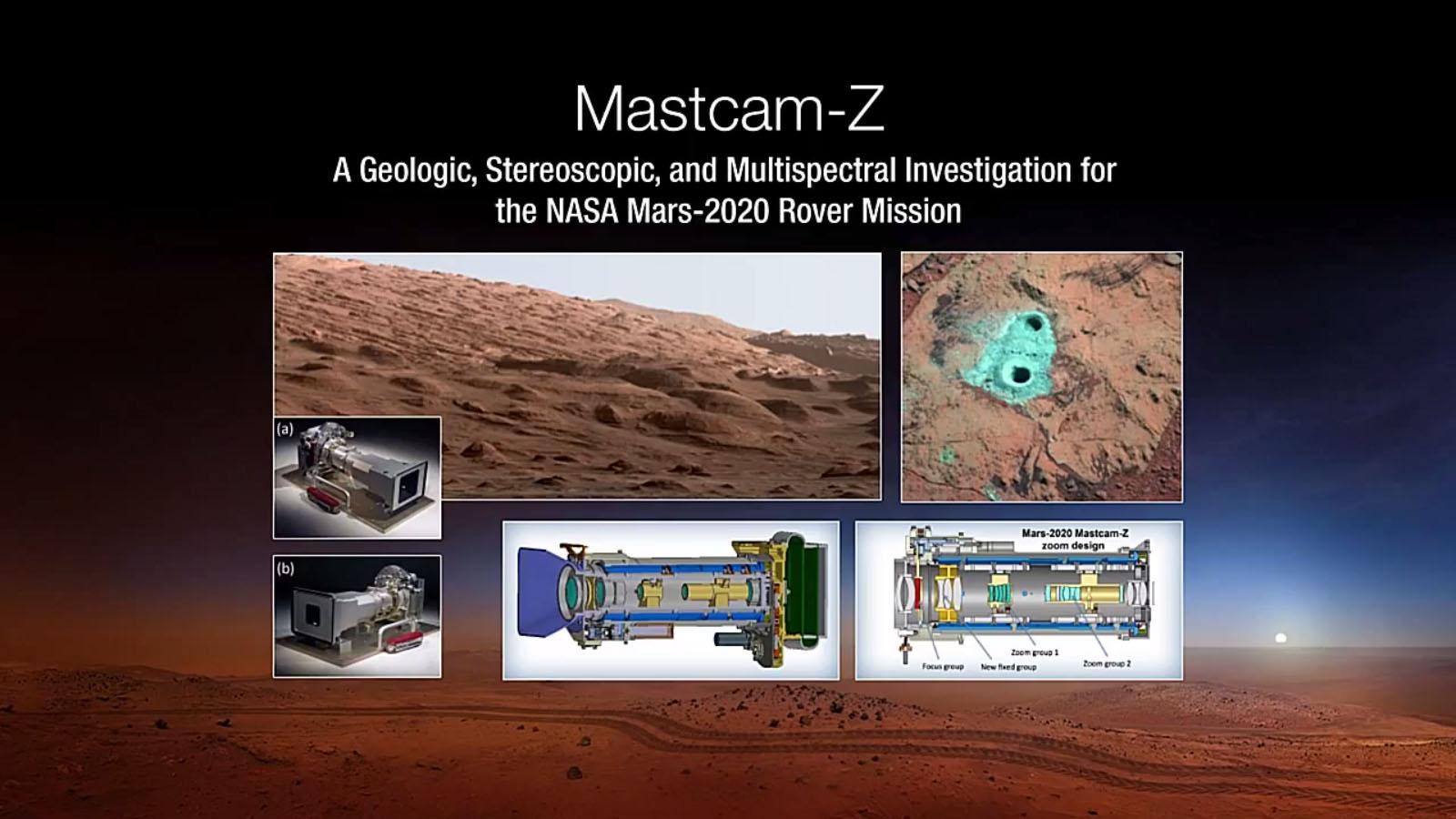 Mars Rover 2020: Mastcam-Z