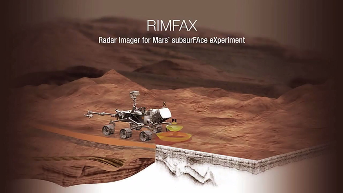 Radar Imager for Mars' Subsurface Exploration (RIMFAX)