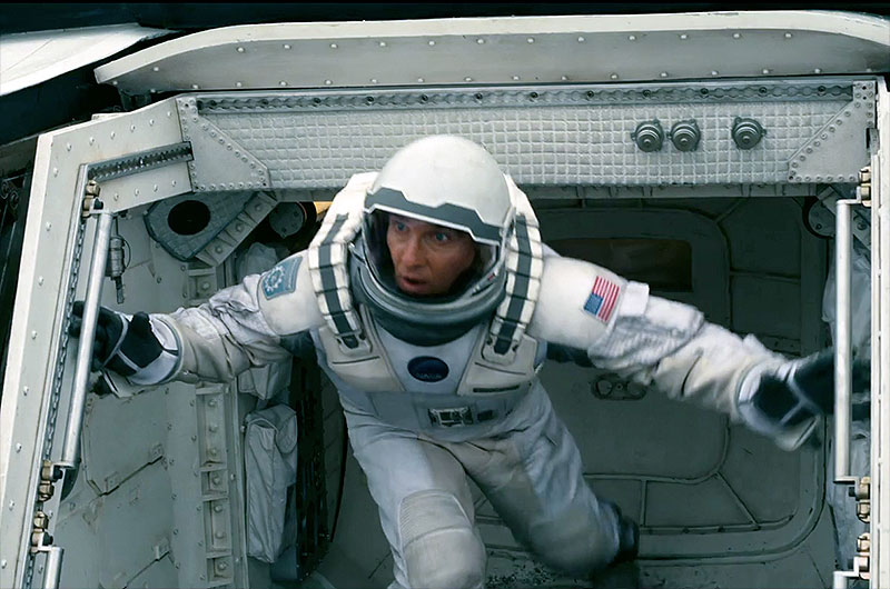 Endurance Mission Patch in 'Interstellar'