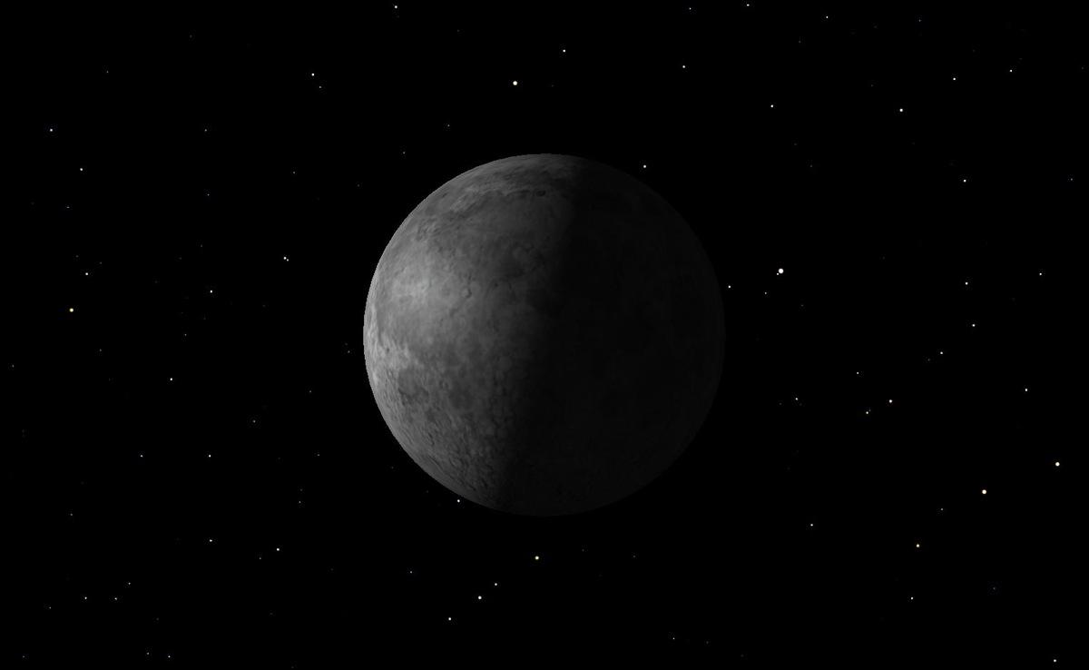 Last Quarter Moon, August 2014