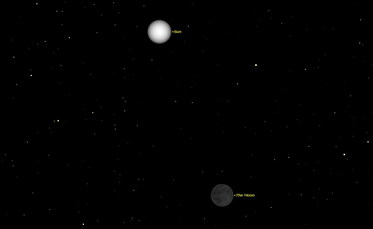 New Moon, August 2014