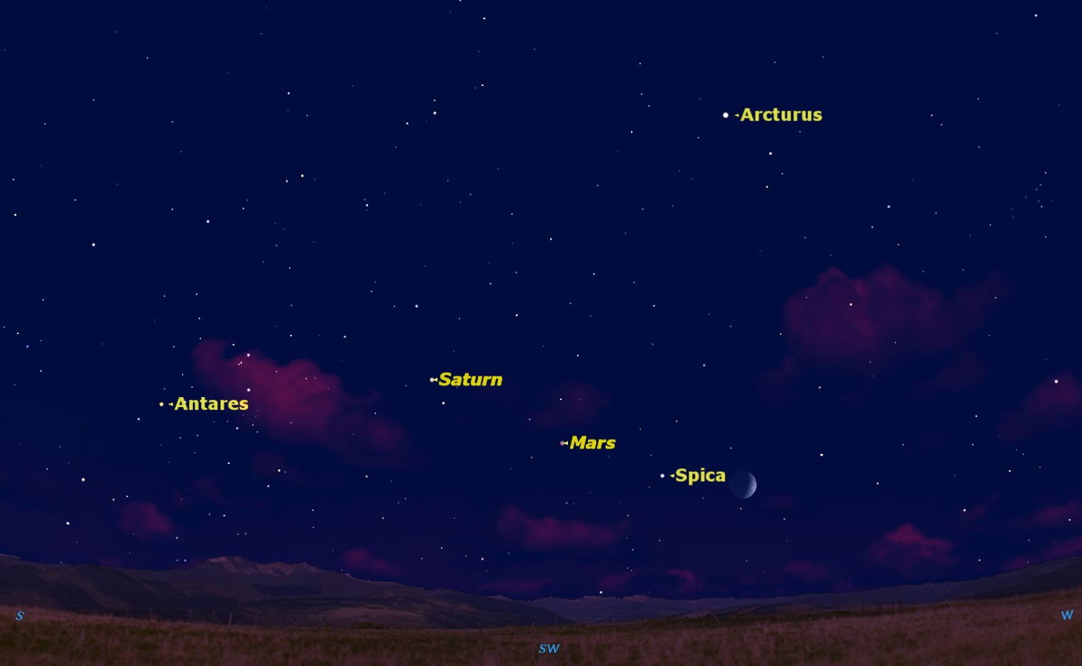 See the Moon in Motion in August's Night Sky