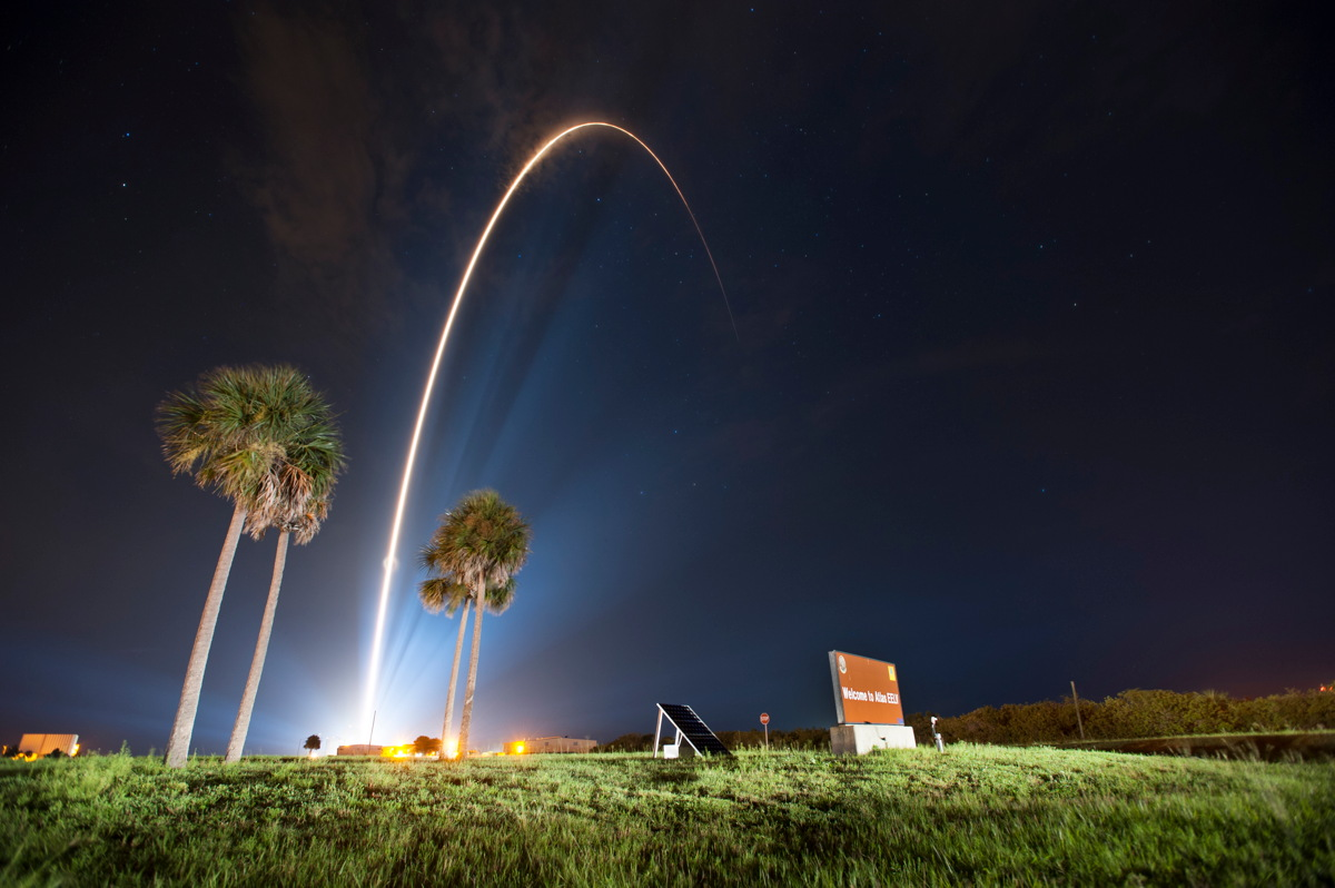 Atlas V GPS IIF-7 Launch Streak