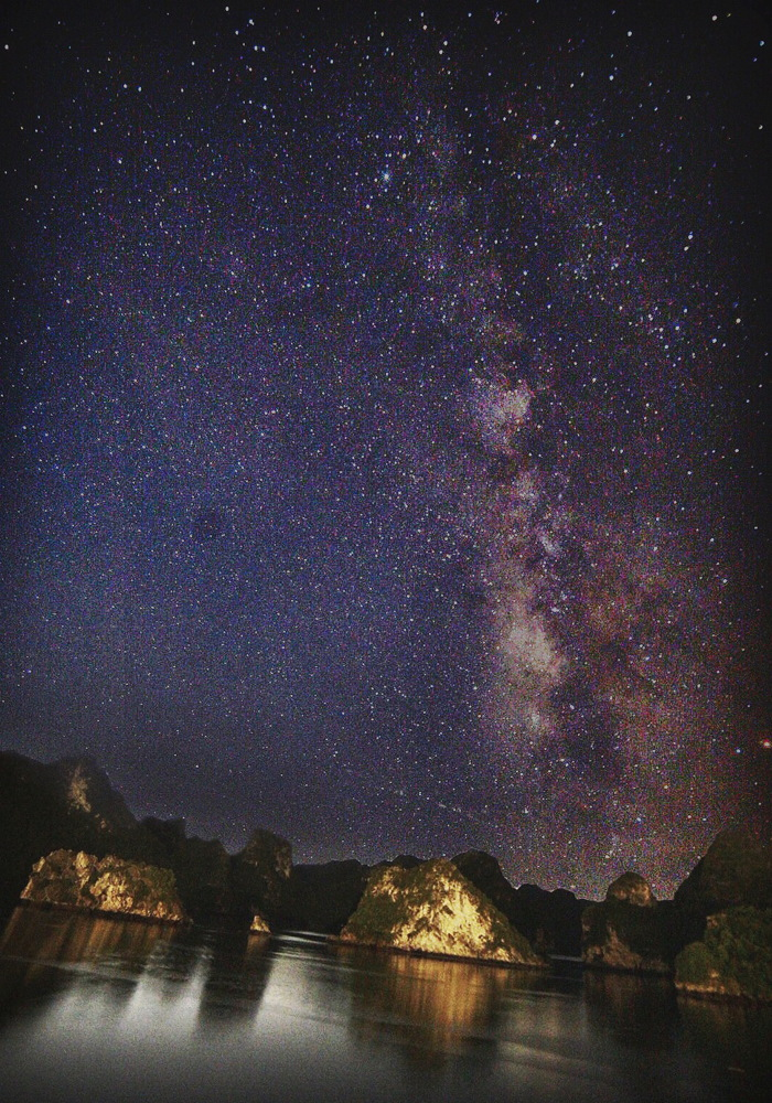 Milky Way Over Halong Bay, Vietnam