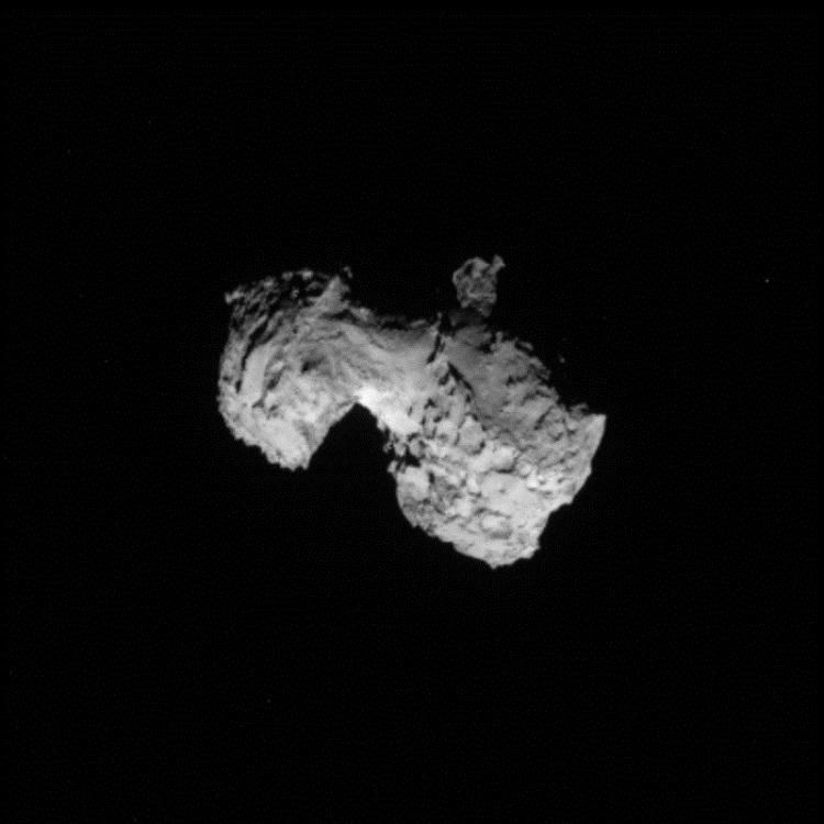 Rosetta Spies Comet 67P