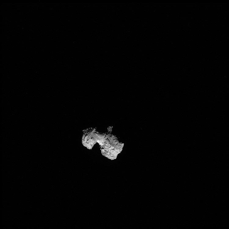 Rosetta's Comet Up Close