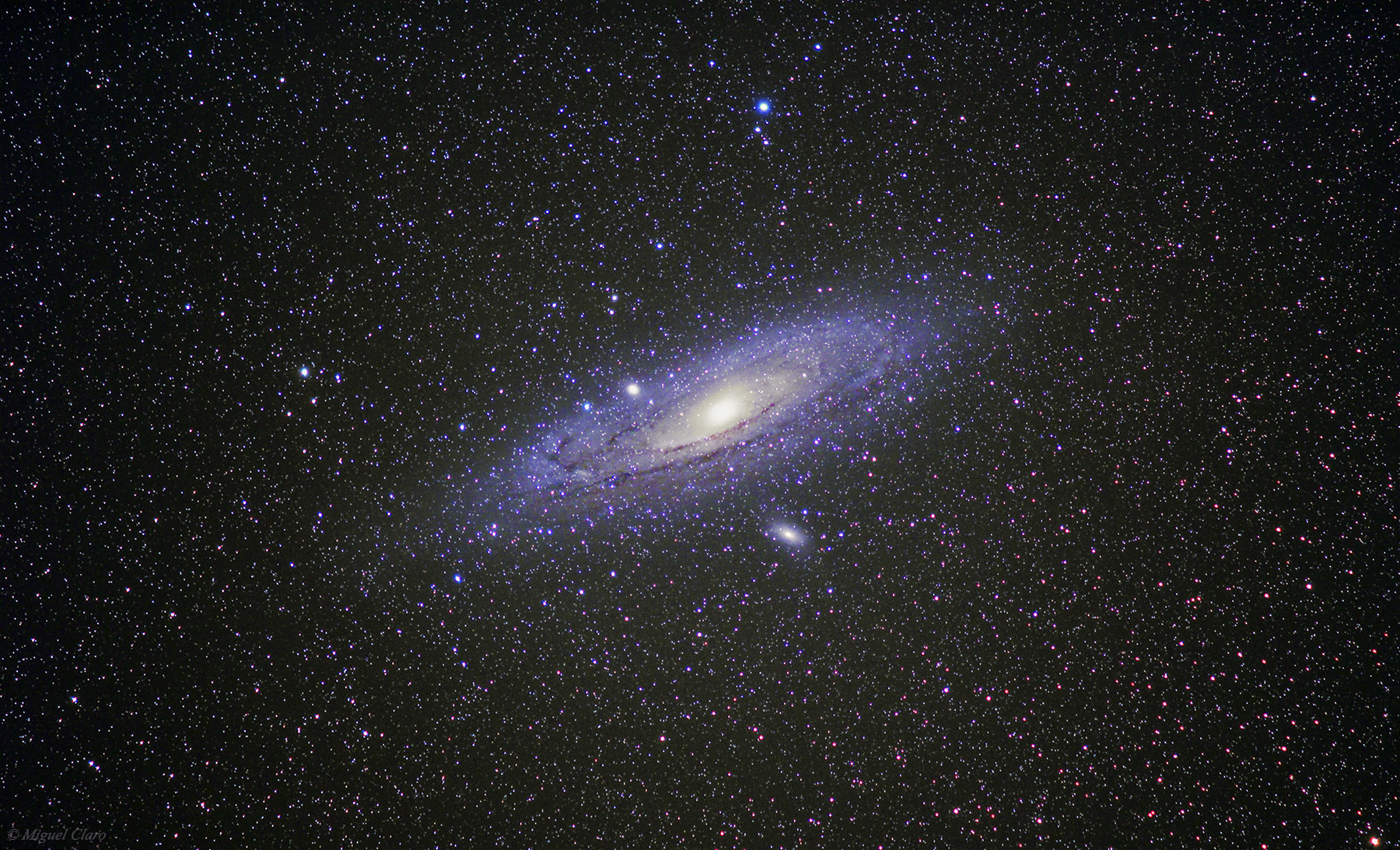 Andromeda Galaxy From Portugal