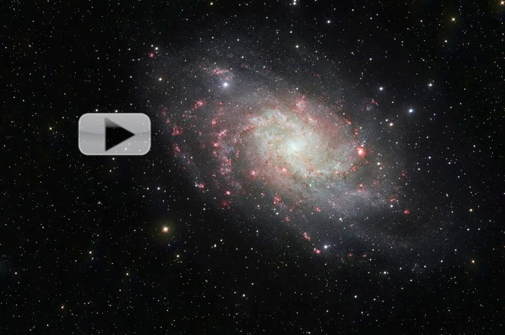 Triangulum Galaxy Messier 33 NGC 598