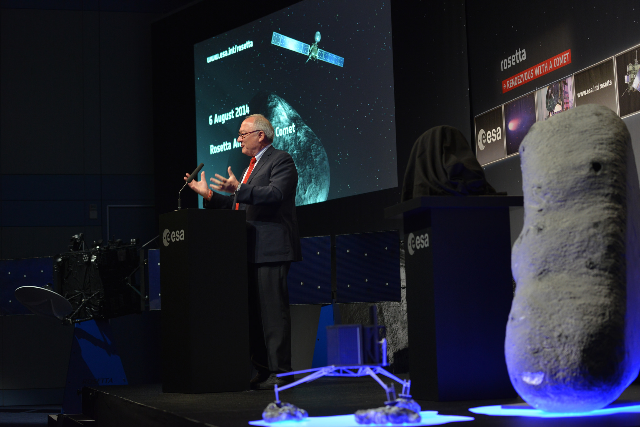 European Space Agency Rosetta Arrival Event