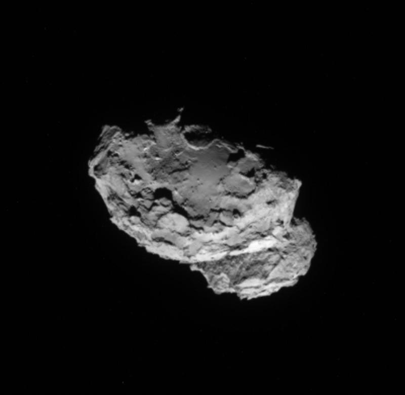 Comet 67P/Churyumov-Gerasimenko on Aug. 4: Rosetta