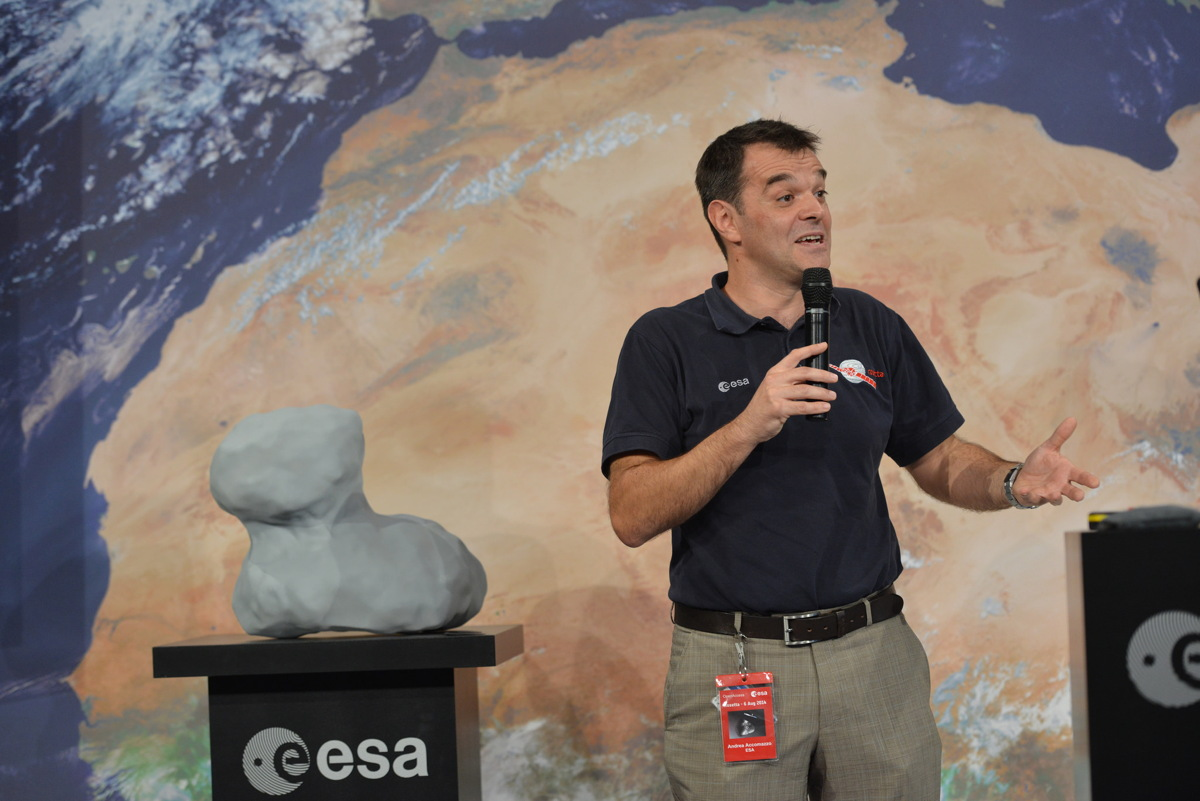 European Space Agency Rosetta Comet Arrival Event