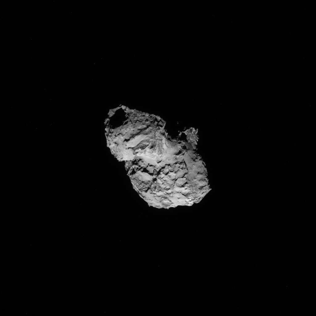 Comet 67P from 90 Miles