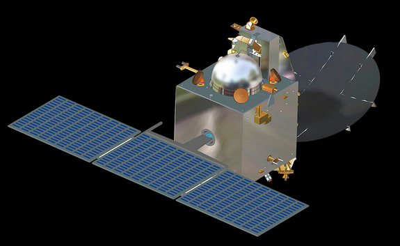 India's Mars Orbiter Mission spacecraft represents the country's first Mars-bound probe.