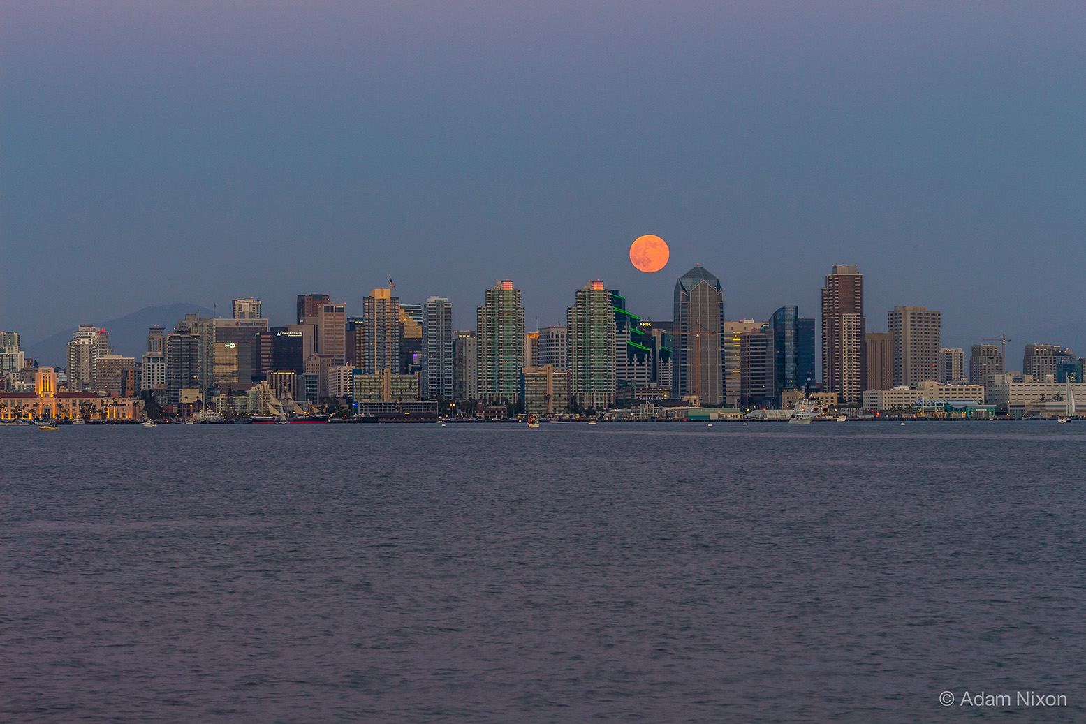San Diego Supermoon
