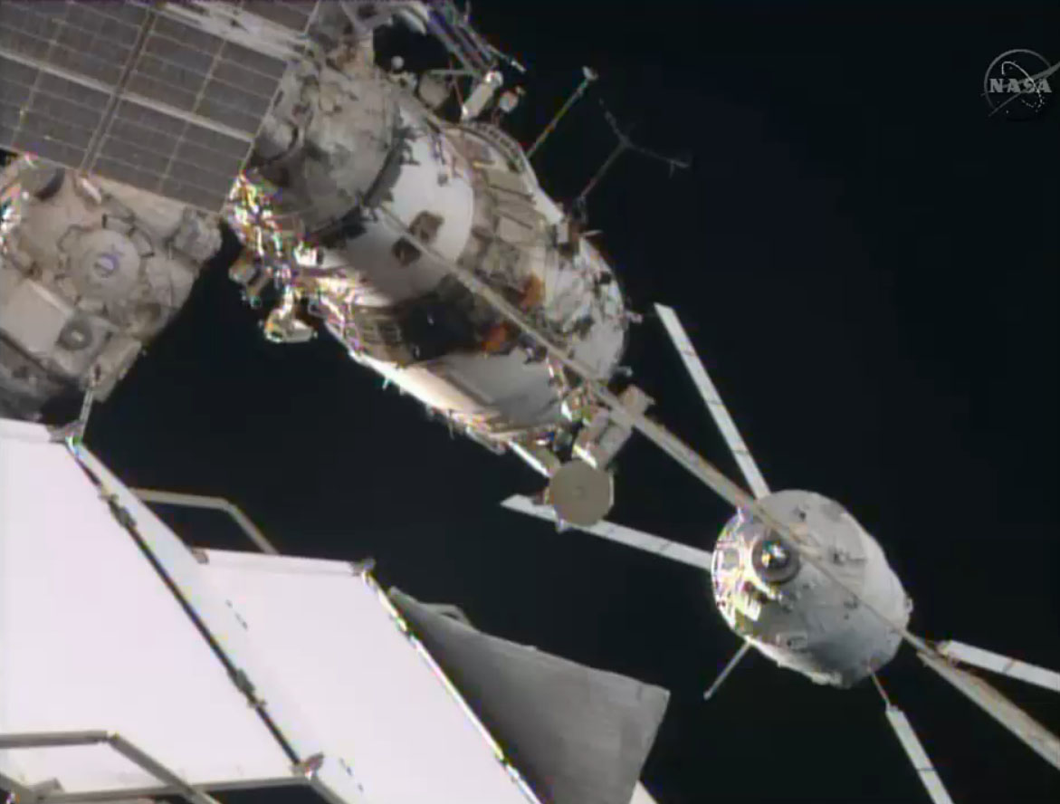 European Cargo Spaceship Makes Final Delivery to Space Station