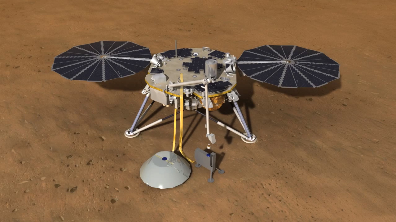 InSight Mars Lander Delivers Drill 2