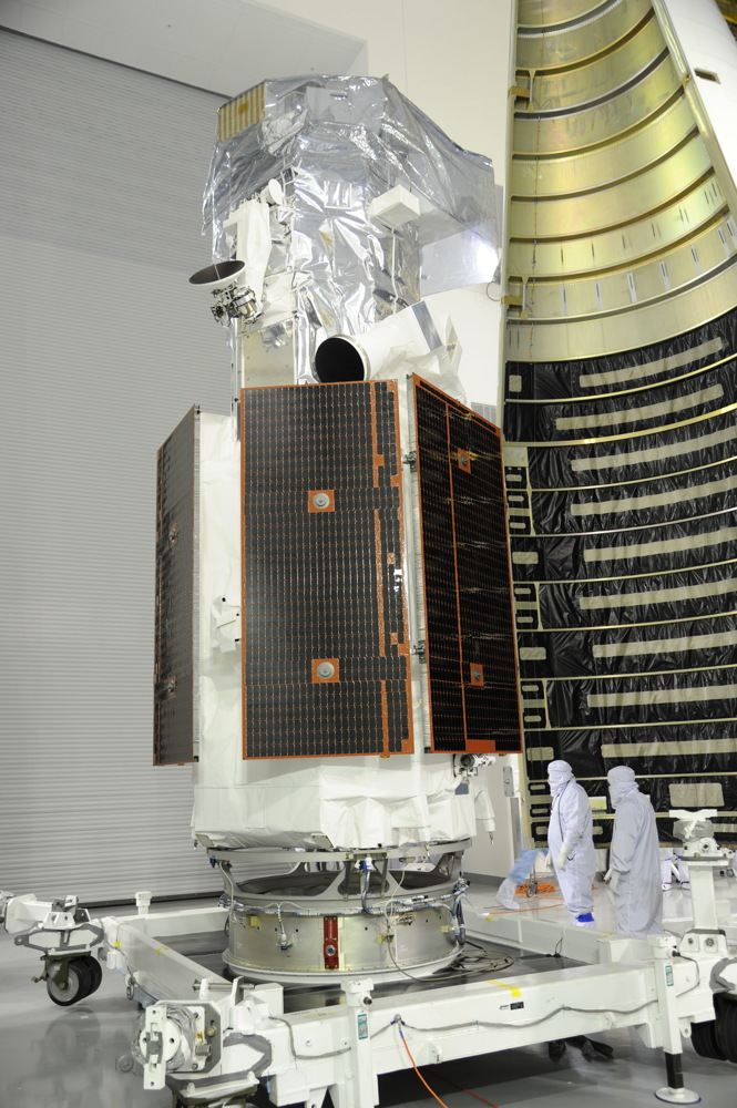 DigitalGlobe's WorldView-3 Satellite Encapsulated #2