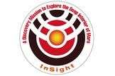 InSight mission logo.