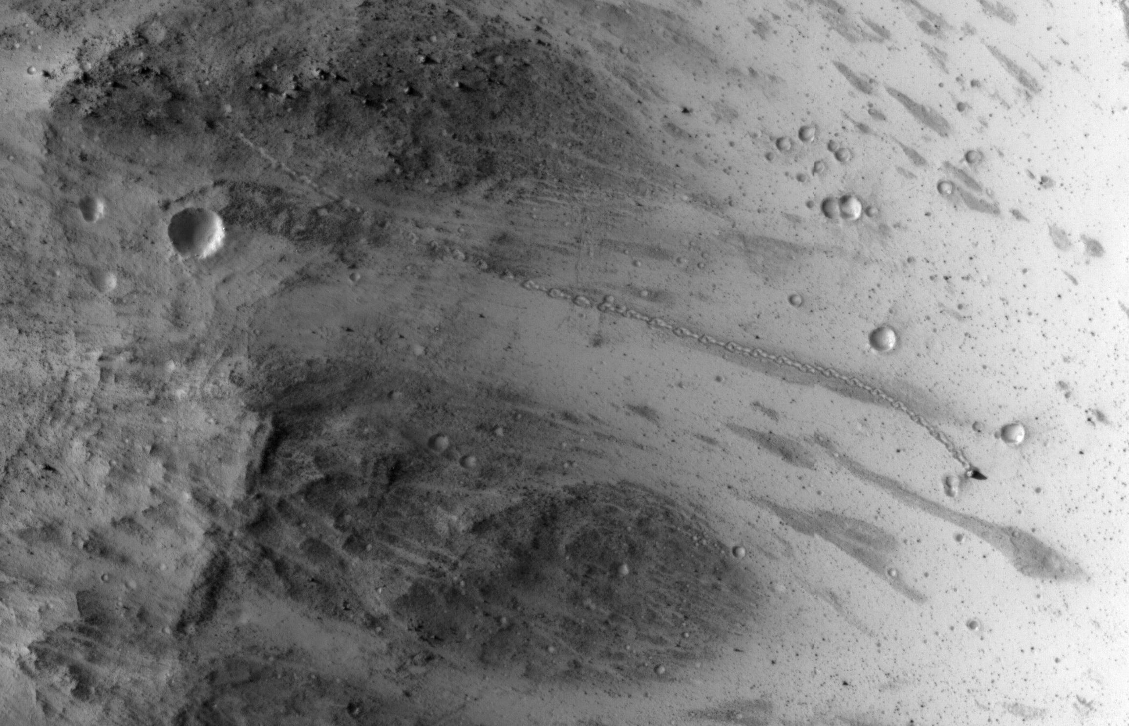Mars Boulder Trail Wide