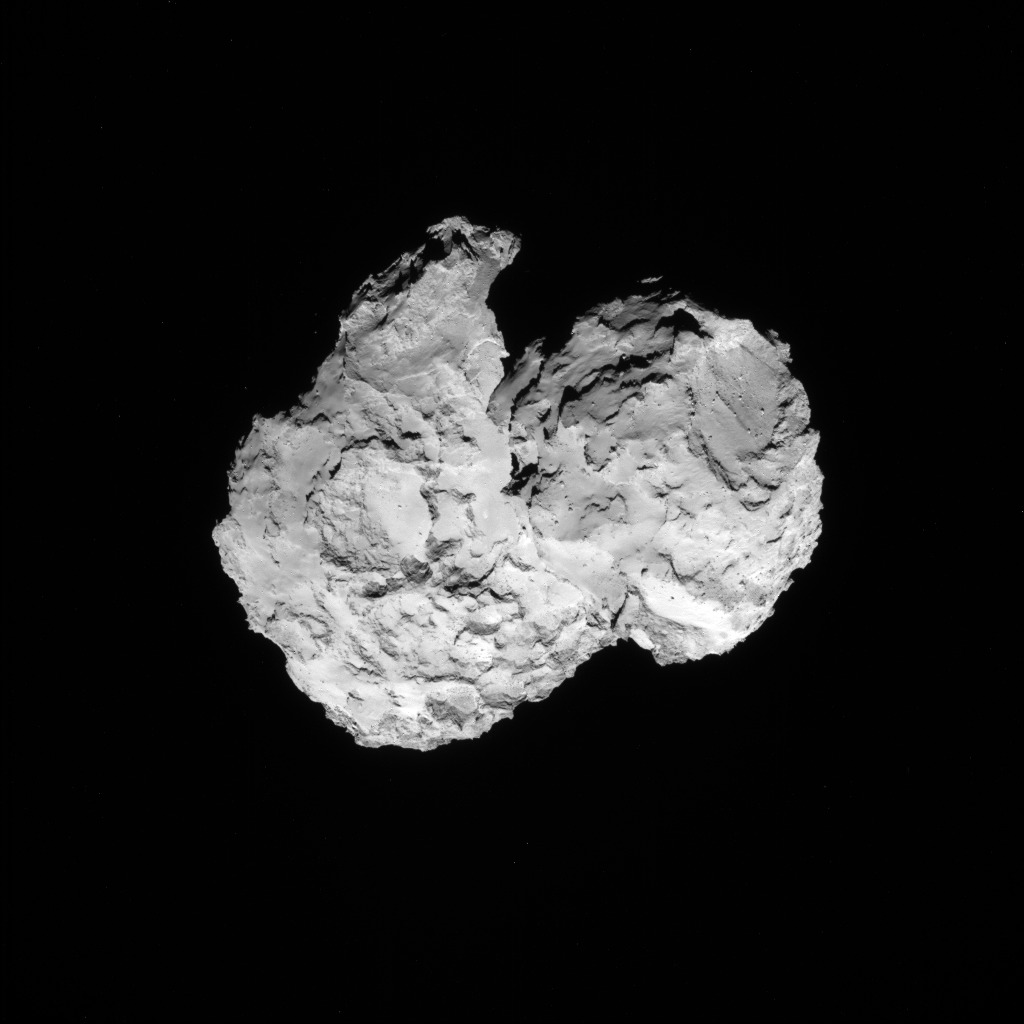 Comet 67P from 52 Miles