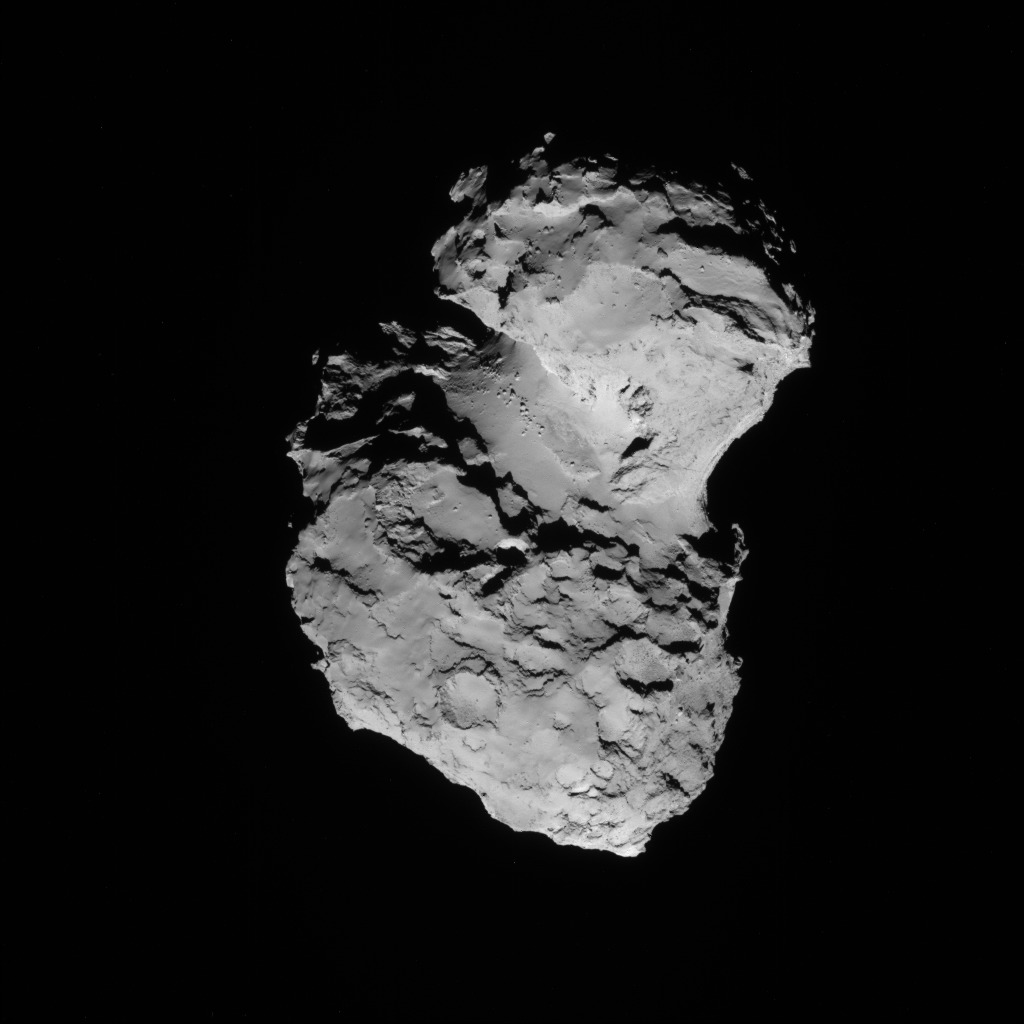 Comet 67P from 50 Miles