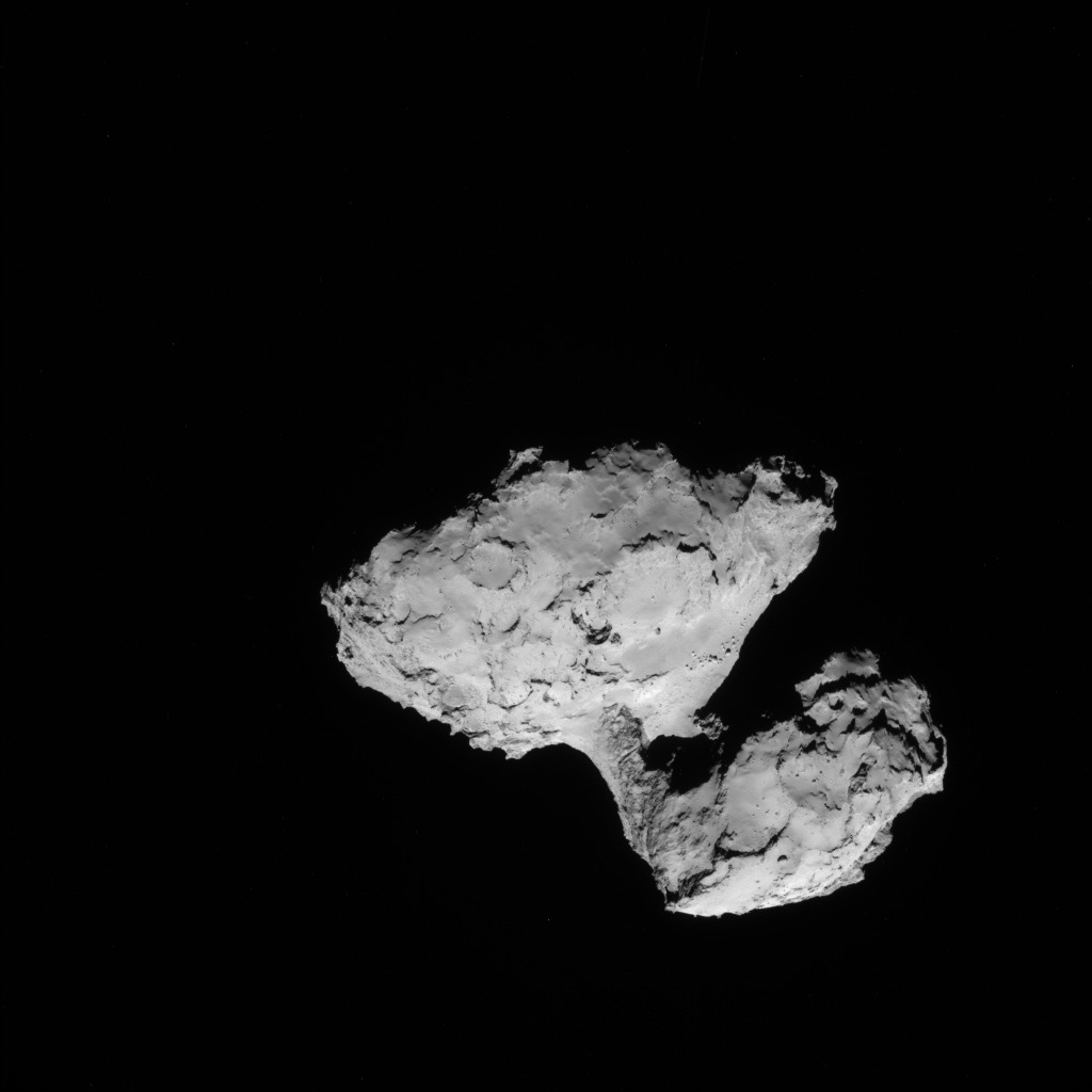 Comet 67P from 62 Miles