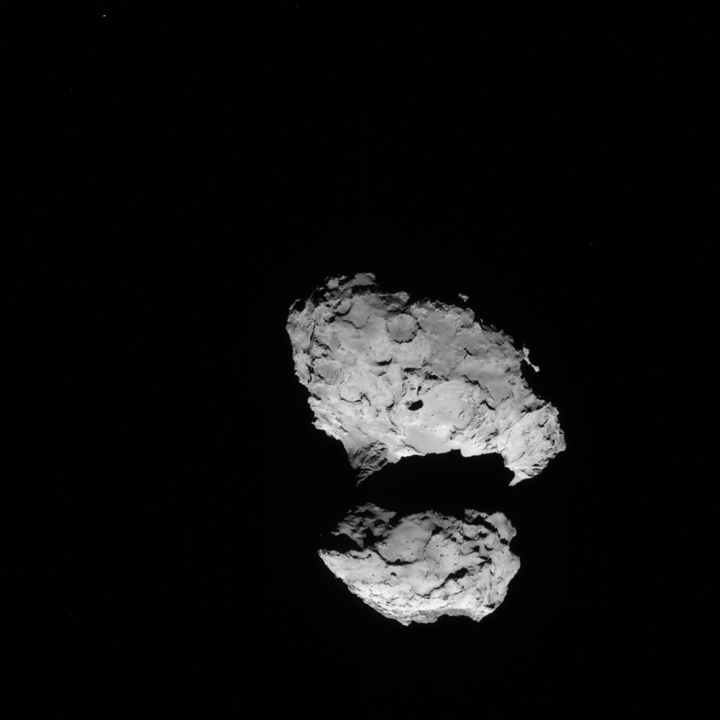 Comet 67P from 68 Miles