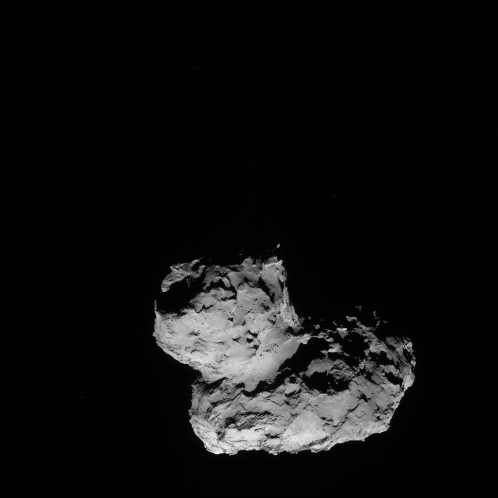 Comet 67P from 63 Miles