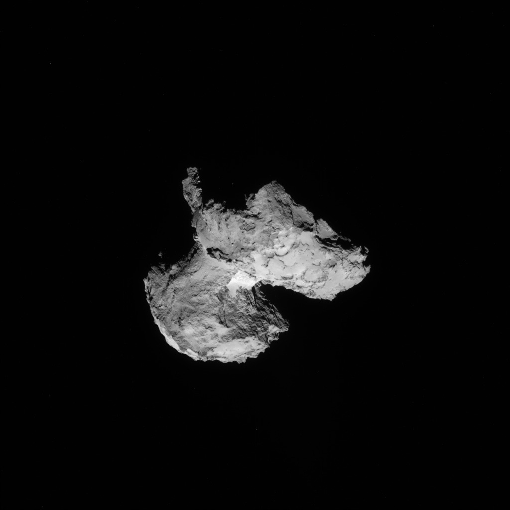 Comet 67P from 64 Miles