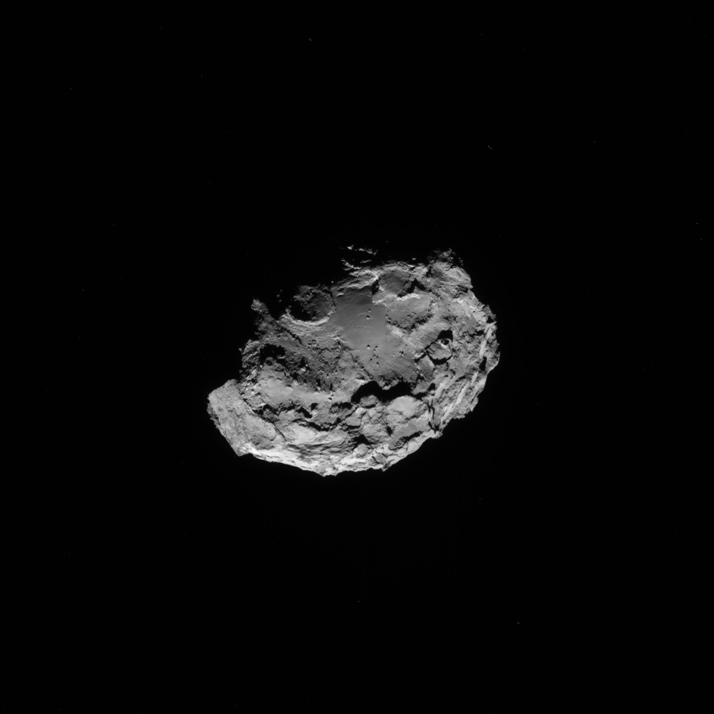 Comet 67P from 71 Miles